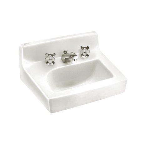 American Standard Penlyn Wall Mount Porcelain Bathroom Sink 0373.027.020 White