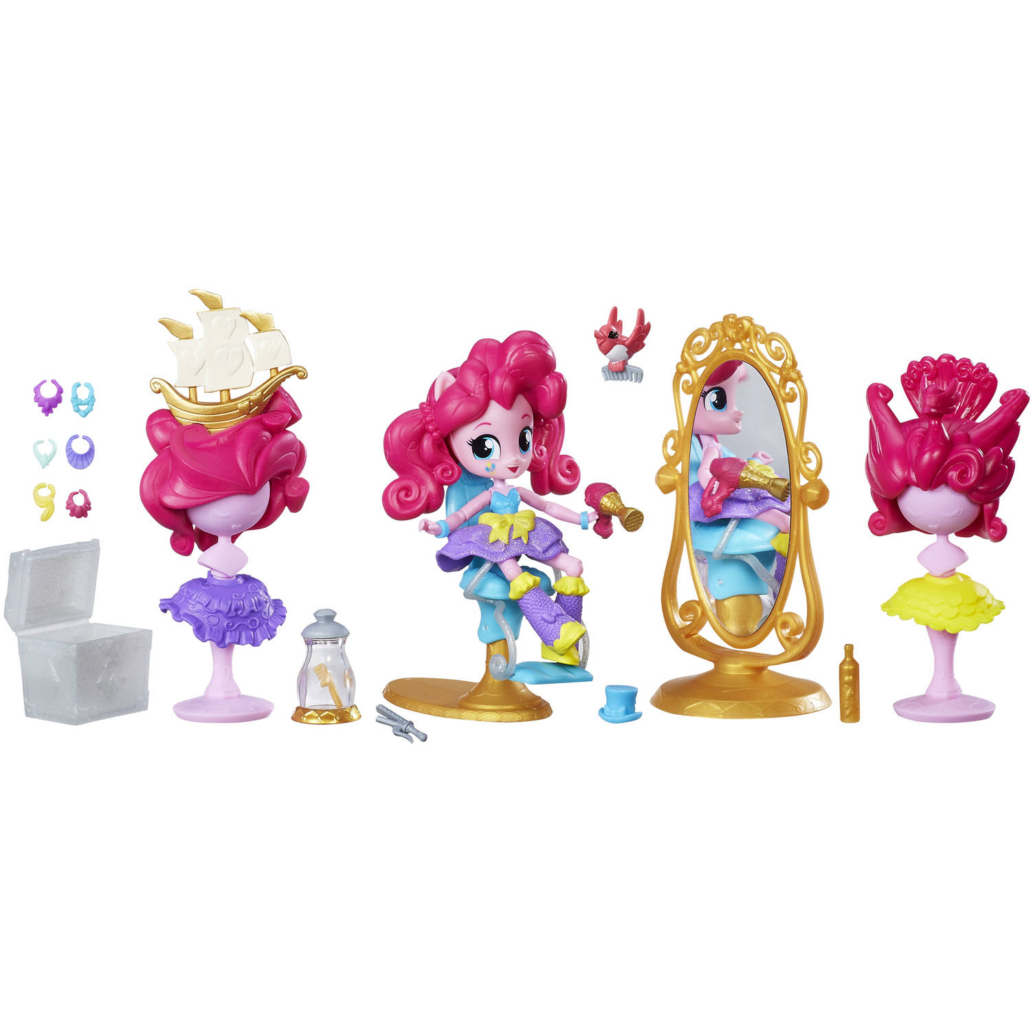 My Little Pony Equestria Girls Minis Pinkie Pie Switch-a-Do Salon Set
