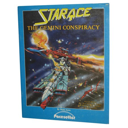 The Gemini Conspiracy Star Ace Paperback Book - (Mark Acres)