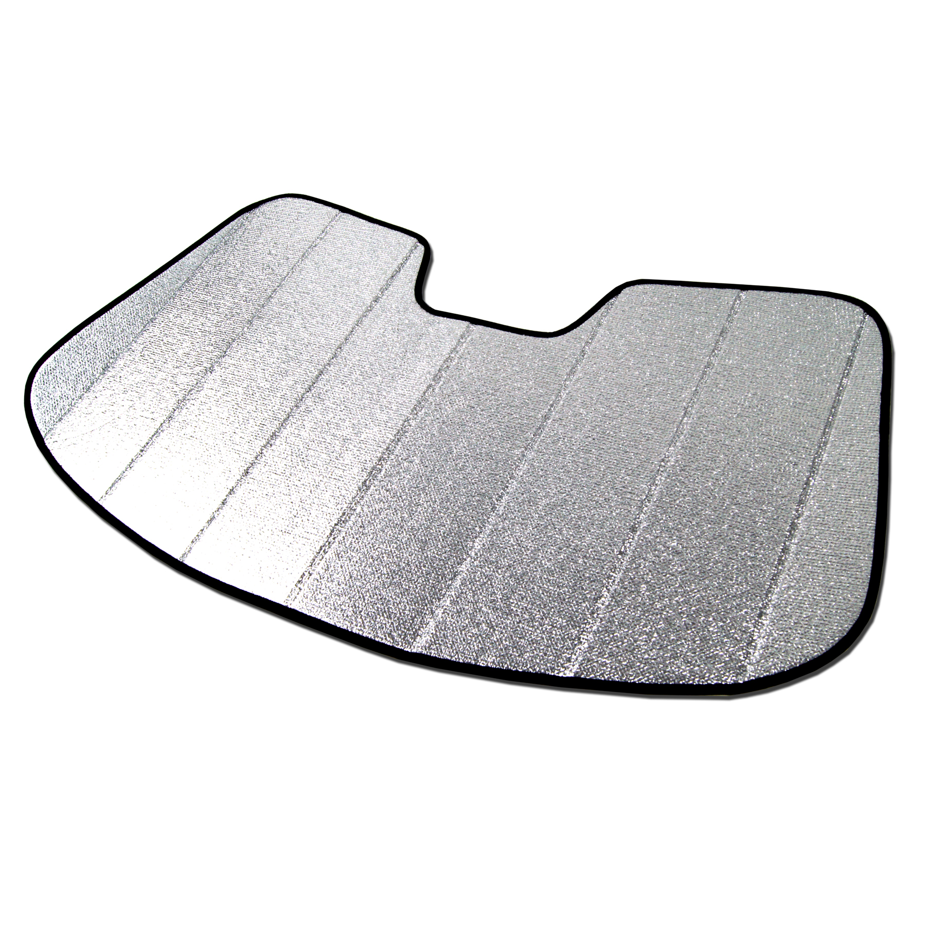 Tuningpros SS-001 Custom Fit Silver And Grey Windshield