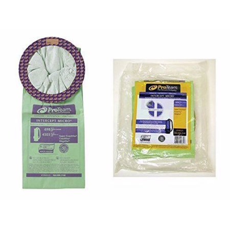 Pro-team Coachvac Back Pack Vacuum 10qt Paper Bags 10 Pk Part - 100331 (100331 Vacuum Bag)