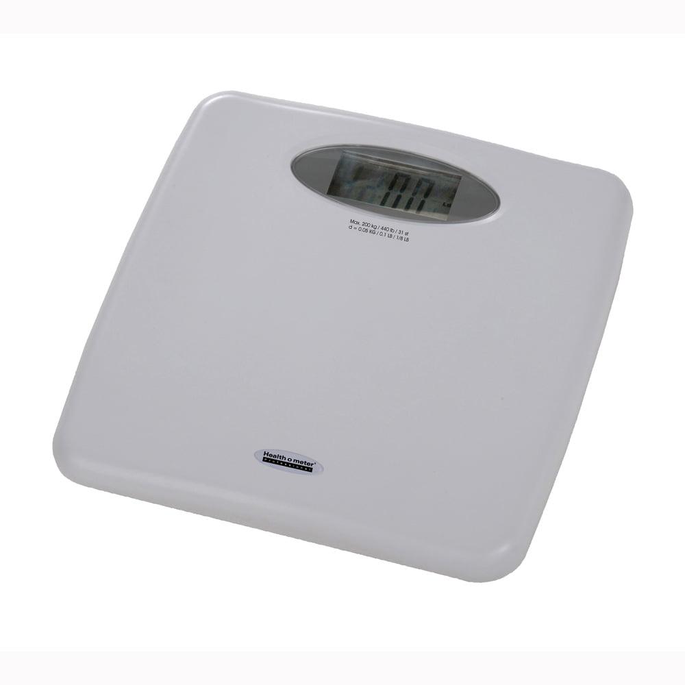 Healthometer 844KL Digital Bathroom Scale-440 lb/200 kg ...