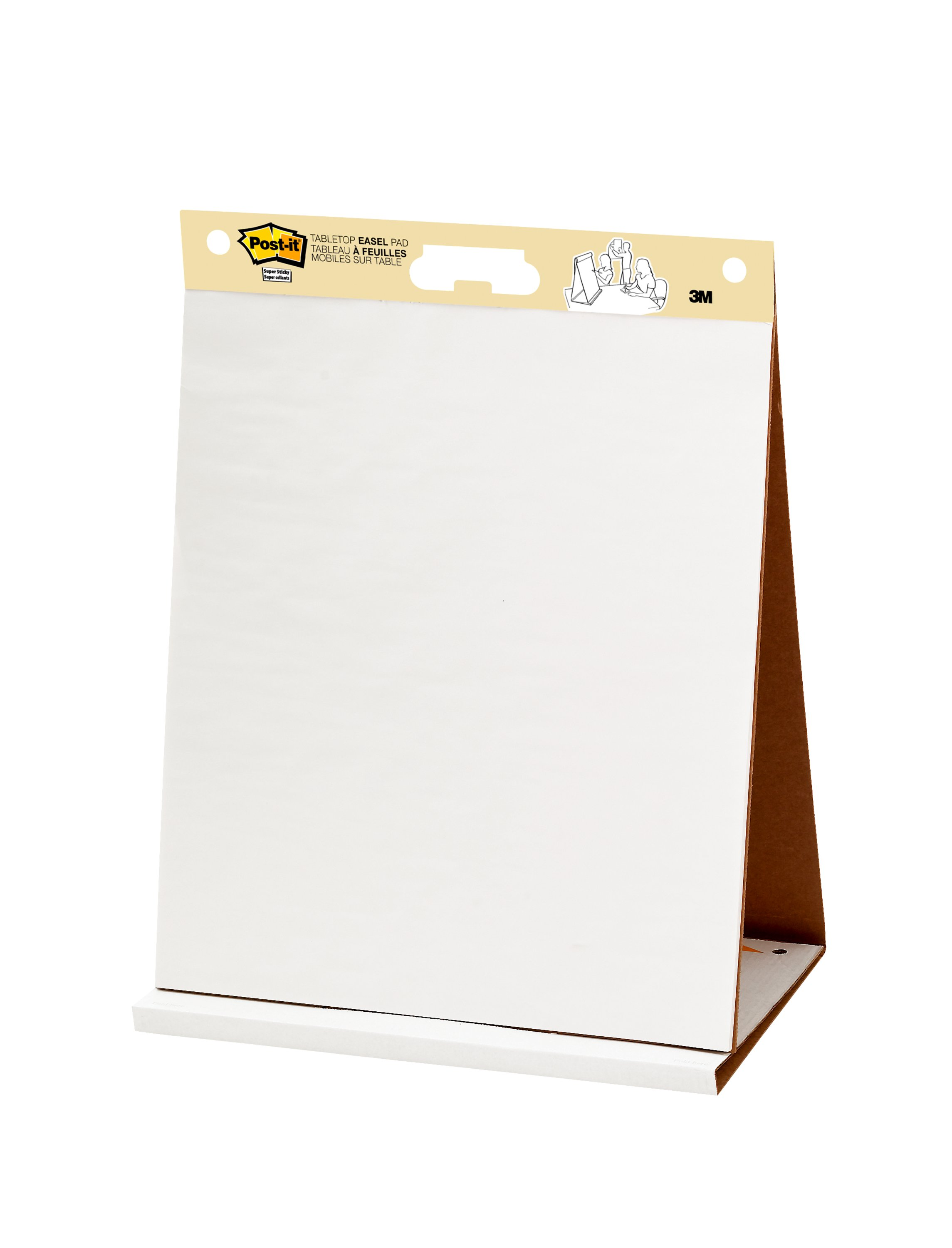 Post-it Super Sticky Portable Tabletop Easel Pad 20x23 Inches 4 Pads