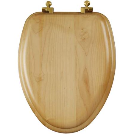Mayfair 19601br Natural Reflections Wood Elongated Toilet