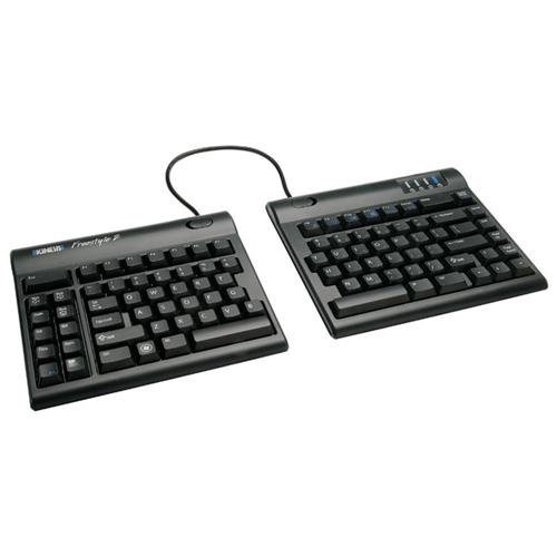 Kinesis Corporation KB800PB US 20 Freestyle2 Keyboard Pc 20 Inch, Black