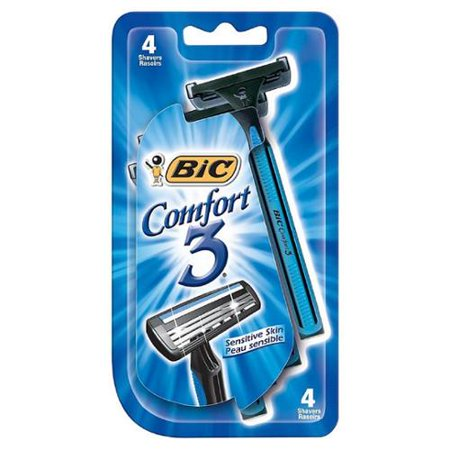 Bic Comfort 3 Sensitive Disposable Shaver 4 ea