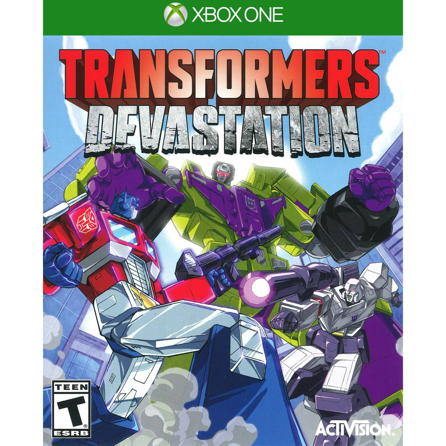 Transformers Devastation, Activision, Xbox One, 047875771208