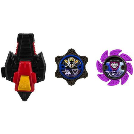 Power Rangers Power Up Black & Purple Ninja Power Star 2-Pack with Launcher](Ninja Stars Paper)