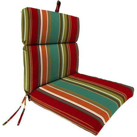 Jordan Manufacturing Outdoor Patio Replacement Chair Cushion Westport Teal