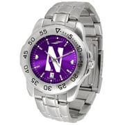 Suntime ST-CO3-NOW-SPORTM-A Northwestern Wildcats-Sport Steel AnoChrome Watch