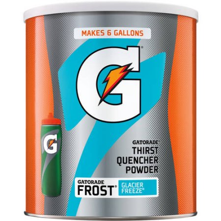 (3 Pack) Gatorade Thirst Quencher Drink Mix, Frost Glacier Freeze, 51 Oz, 1 Count