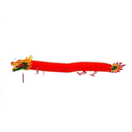 Chinese Dragon Decoration (THY COLLECTIBLES Chinese Decorative Dragon For Party, Festival Celebration Or Home Decor 55 in (140)