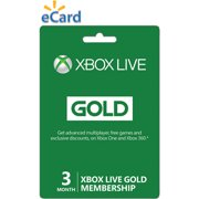 Xbox Live 3 Month Gold Membership (Email Delivery)