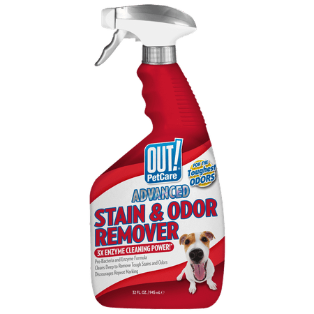 OUT! Advanced Severe Stain & Odor Remover, 32 oz At A-glance Pen