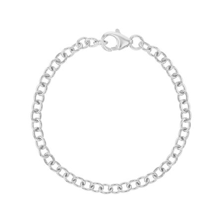 925 Sterling Silver Charm Bracelet for Girls Kids - Girls Charm Bracelet