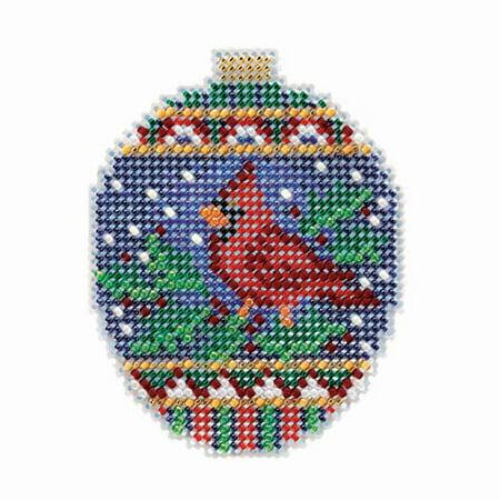 Crimson Embroidery - Wichelt Imports, Inc. Crimson Cardinal Counted Cross-Stitch Kit