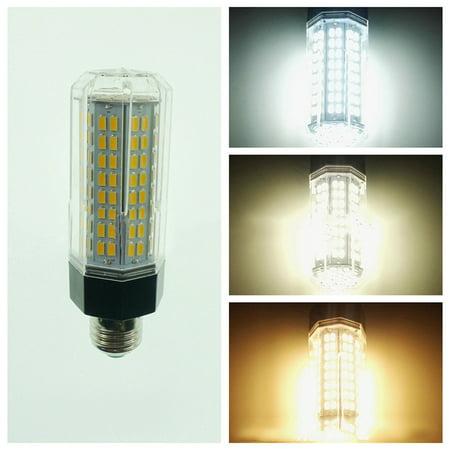 E27 LED Lamp 110-265V 15W 5730 SMD 144 LEDs Corn Light Bulb Home Energy Saving Lamps with Aluminium Base 15w Energy Saving Bulb