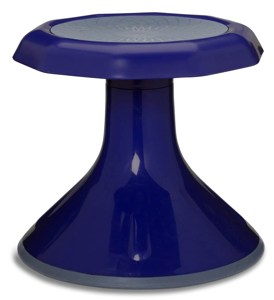 Ace Stool in Navy (13 in. Dia. x 12 in. H (4.75 lbs.))