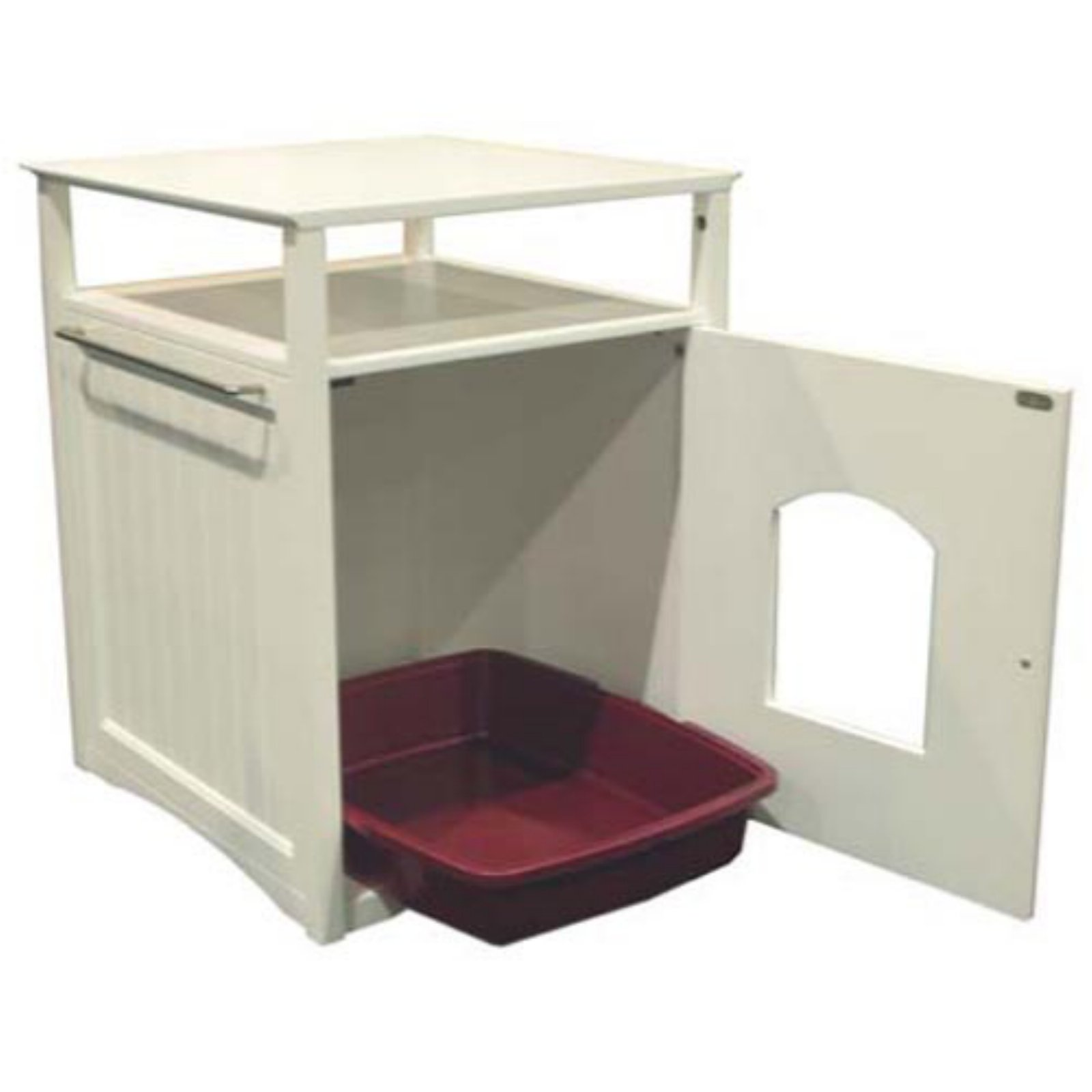 Covered litter boxes for small spaces lidded cat litter box images covered corner litter box - Litter boxes for small spaces paint ...