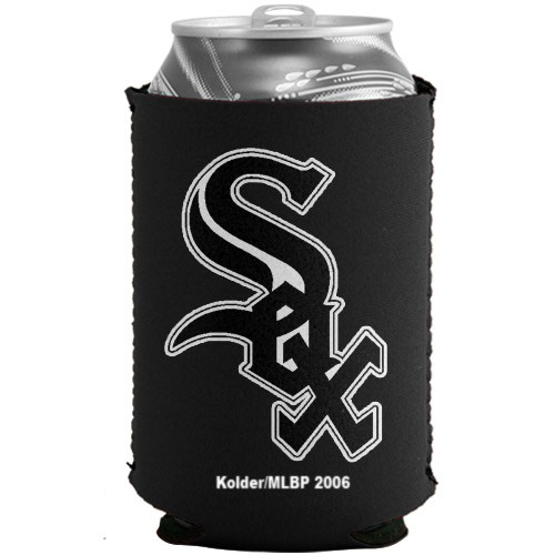 Chicago White Sox Black Collapsible Can Cooler - No Size
