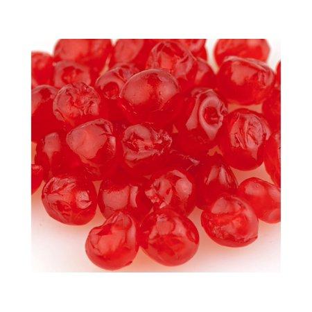 Paradise Red Whole Cherries Candied Fruit Glaze bulk 10 pound box (Cherry Cake Mix)