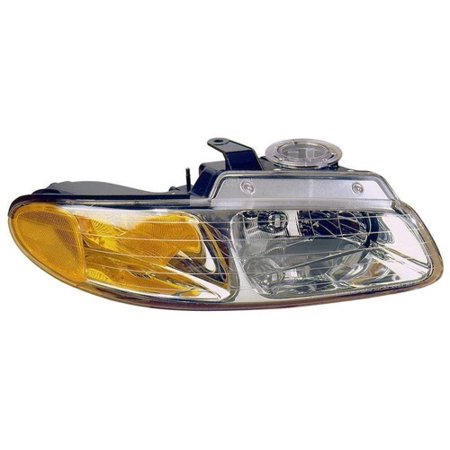 Go-Parts » 1996 - 1999 Dodge Grand Caravan Front Headlight Headlamp Assembly Front Housing / Lens / Cover - Right (Passenger) Side 4857040AB CH2503109 Replacement For Dodge Grand