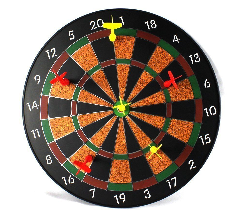 "Sport Magnetic Dartboard Children's Kid's Toy Dart Game w 12"" Magnetic Dartboard by"