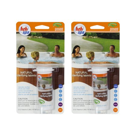HTH Spa Natural Clarifier Tablets for Spas and Hot Tubs