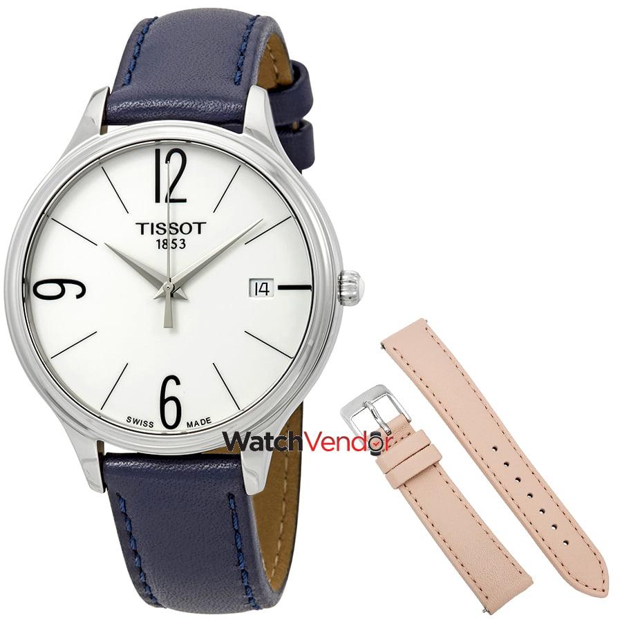 b2a8e48c150 Tissot Bella Ora White Dial Ladies Watch T103.210.16.017.00 ...