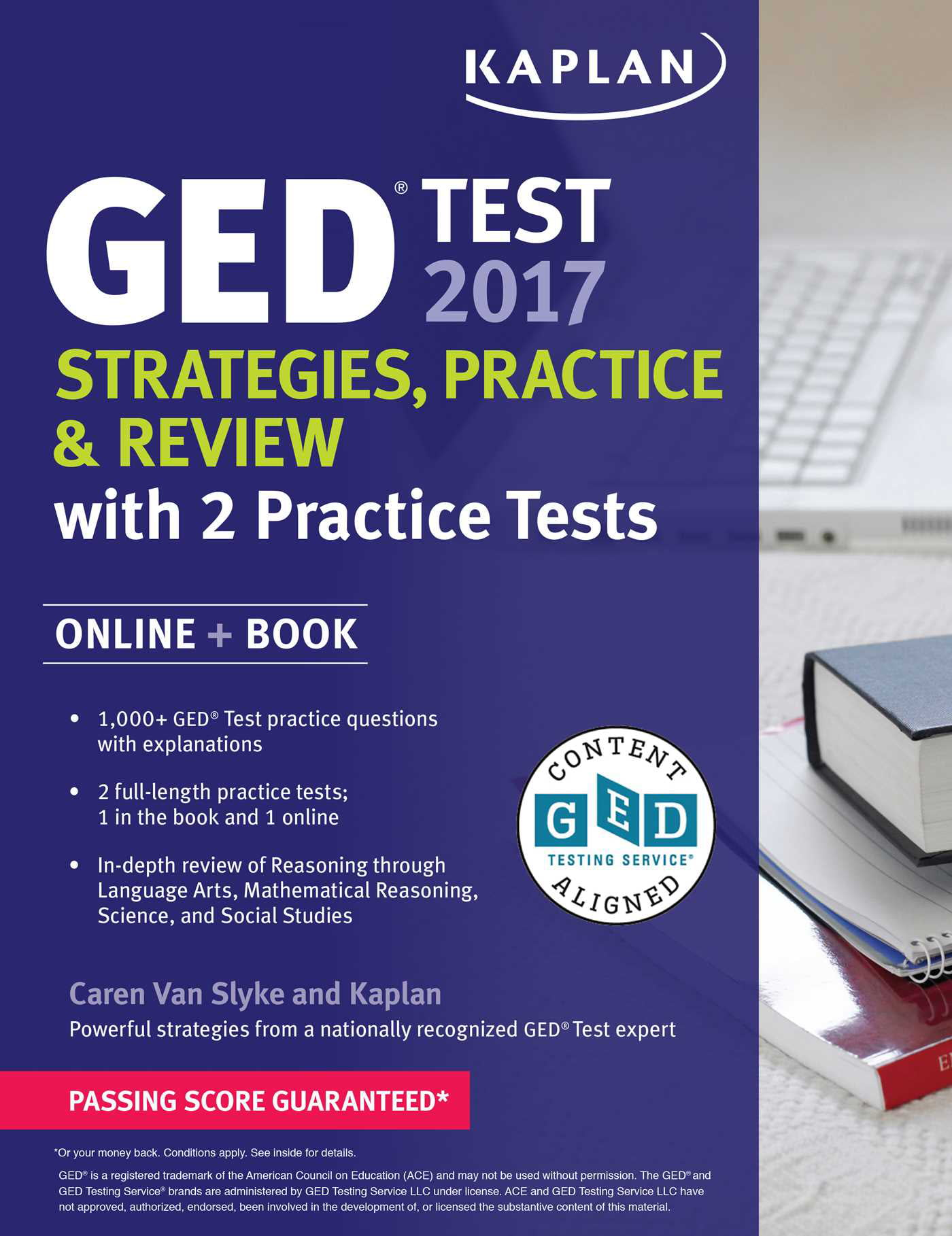 GED Test 2017 Strategies, Practice & Review with 2 Practice Tests : Online  + Book - Walmart.com