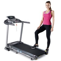 Marcy Folding 2.5HP Treadmill with Auto-Incline and Body Fat Analysis