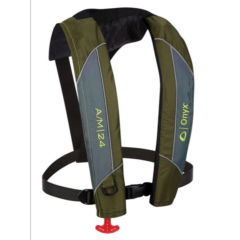 Onyx A/M-24 Auto/Manual Inflatable Adult Life Jacket