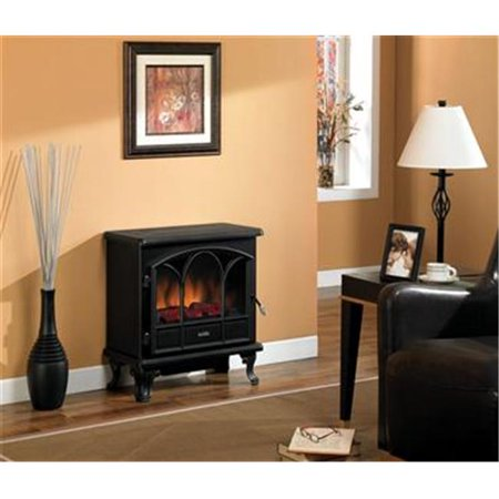 Duraflame Dfs 750 1 25 In Remote Control Black Electric
