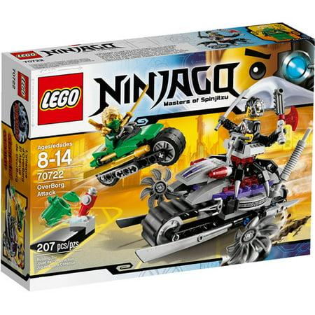 Lego Ninjago Black (LEGO Ninjago Overborg Attack Play)