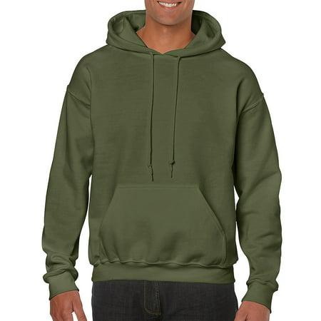 1690747edde Gildan - Gildan Men s Heavy Blend Hooded Sweatshirt - G18500 - Walmart.com