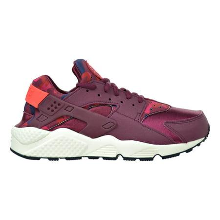 Nike Air Huarache Run Print Women's Shoes Deep Garnet/Bright Crimson  725076-602