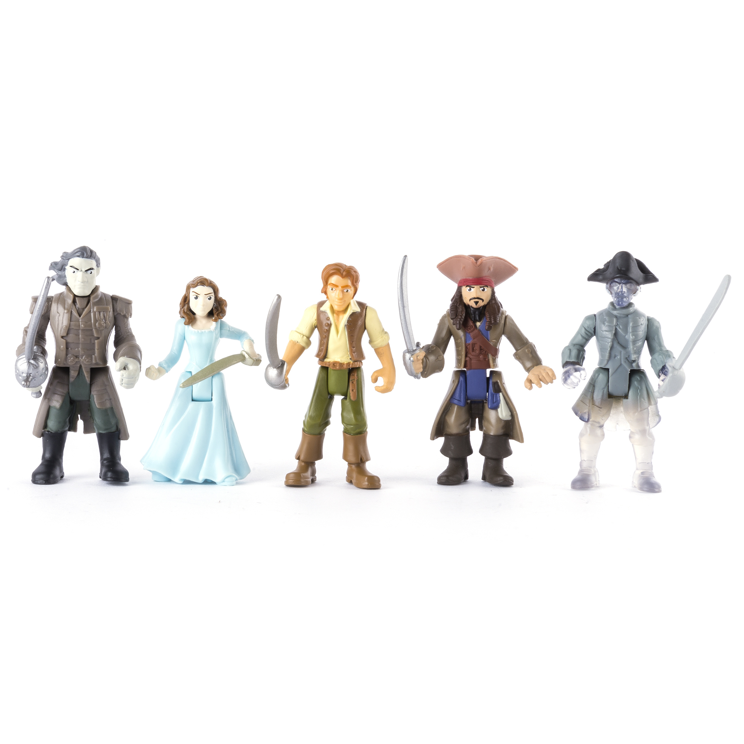 Pirates of the Caribbean: Dead Men Tell No Tales Battle Figure 5-Pack by Spin Master Ltd