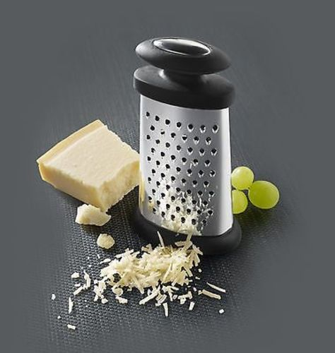 Boska Holland Explore Trio ForMaggio 3-Way Compact Stainless Steel Cheese Grater by Boska Holland