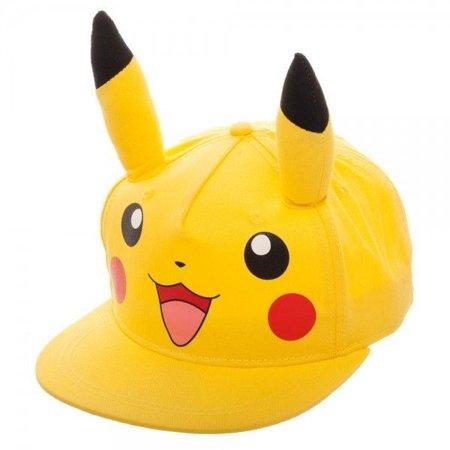 Cap - Pokemon - Pikachu - Youth Onesize Snapback](Pikachu Hat)