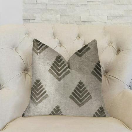 Plutus PBRA2246-2030-DP Aspen Mist Blue & Beige Luxury Throw Pillow, 20 x 30 in. Queen - image 2 of 3