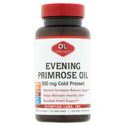 Olympian Labs Evening Primrose Oil Softgels 500 mg Cold Pressed, 90 count