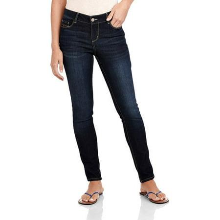 Faded Glory Women's Comfort Skinny Jeans - Walmart.com