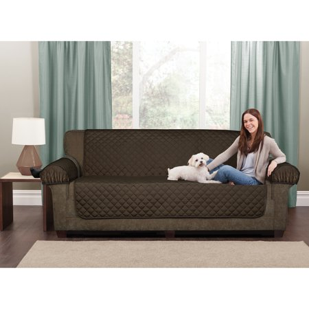 Maytex Waterproof Non Slip 3 Piece Loveseat Pet Cover Furniture
