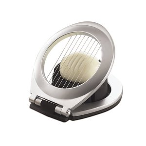 Amco Focus Products Group Chrome Plated 3-In-1 Egg Slicer