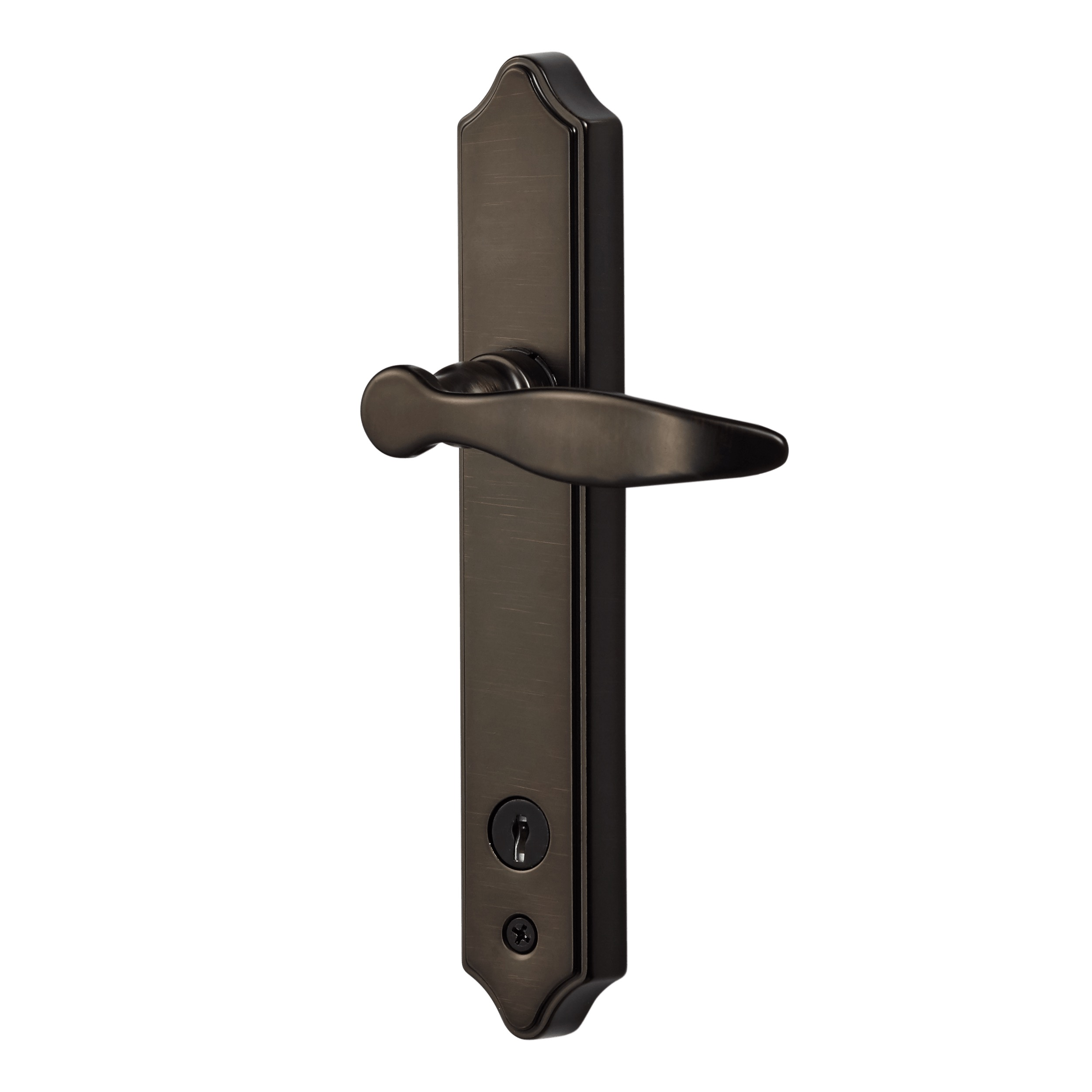 Ideal Deluxe Storm Door Handle Set With Deadbolt Walmart