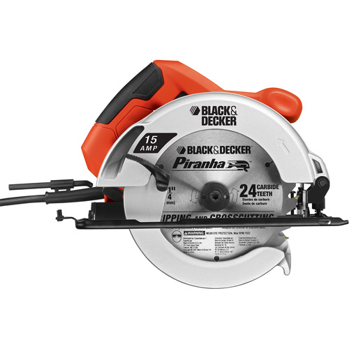 "Black & Decker 7-1/4"" 15-Amp Circular Saw, CS1015"