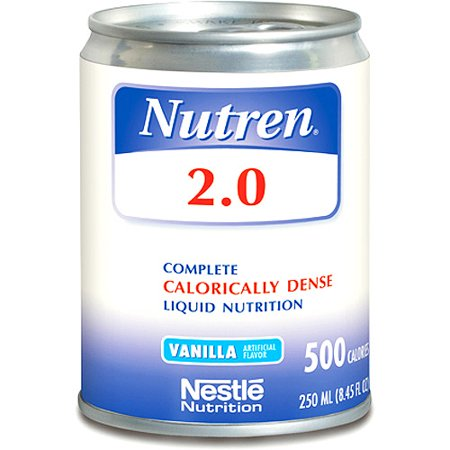 Nutren 2.0  Complete Liquid Nutrition Vanilla 24x250ml