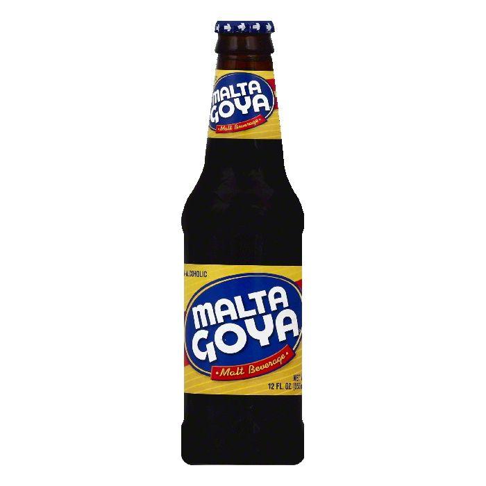 Malta Goya Malt Beverage, 12 fl oz
