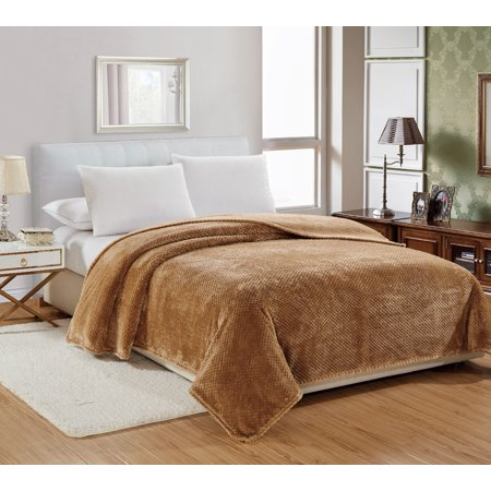 Ultra Cozy Plush 100% Hypoallergenic Fleece Throw Blanket Covers - Assorted Colors & Sizes