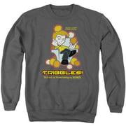 Quogs Not As Frustrating Mens Crewneck Sweatshirt
